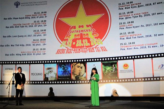 Vietnamese film festival underway in Russia hinh anh 1