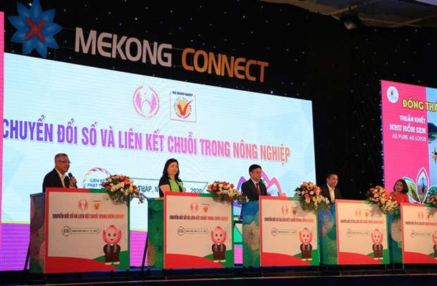 Mekong Delta promotes digital transformation in agriculture hinh anh 1