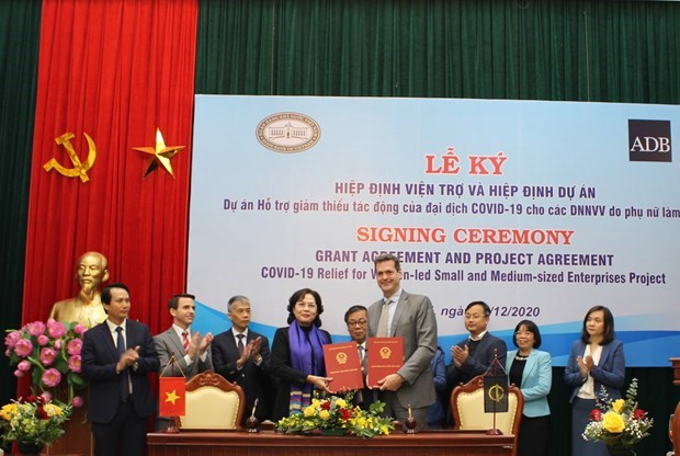 COVID-19 relief to support Vietnam's women-led SMEs hinh anh 1