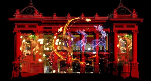 Christmas party to be hosted by Hanoi Opera House hinh anh 1
