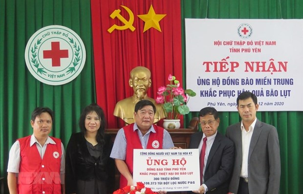 Vietnamese community in US supports flood-hit victims in Phu Yen hinh anh 1