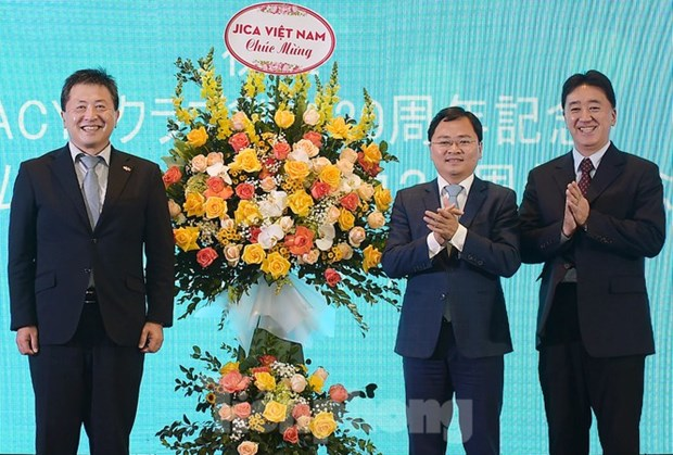 Vietnamese, Japanese youths' 25-year cooperation marked in Hanoi hinh anh 1