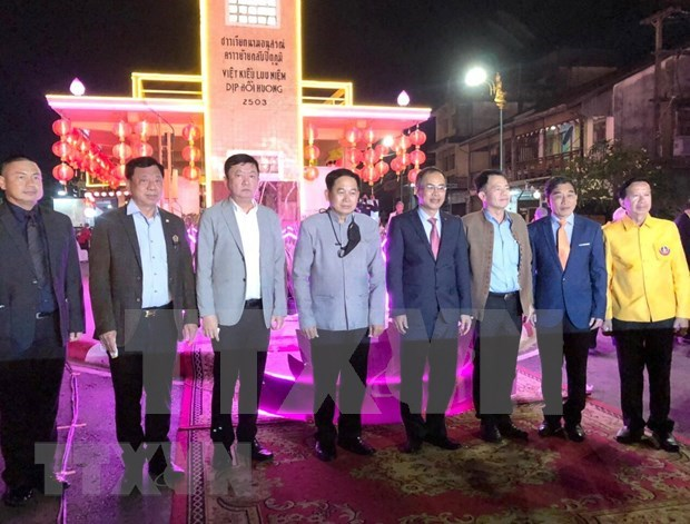 Ceremony marks 60th anniversary of Vietnamese Memorial Clock Tower in Thailand hinh anh 1