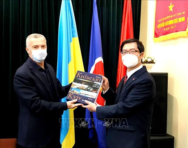 Friendship association dedicated to Vietnam-Ukraine ties: diplomat hinh anh 1