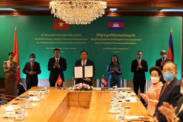 """Vietnam-Cambodia relations touch """"historic milestone"""": Cambodian official hinh anh 1"""
