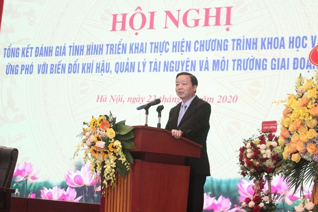 Climate change research programme results highly practical: Minister hinh anh 1
