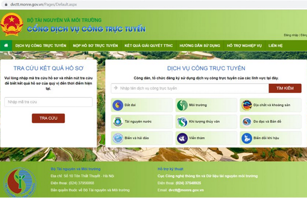 Project aims to complete natural resources, environment database hinh anh 1