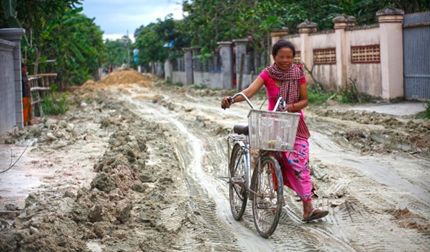 EU, Germany, France jointly fund rural infrastructure in Cambodia hinh anh 1