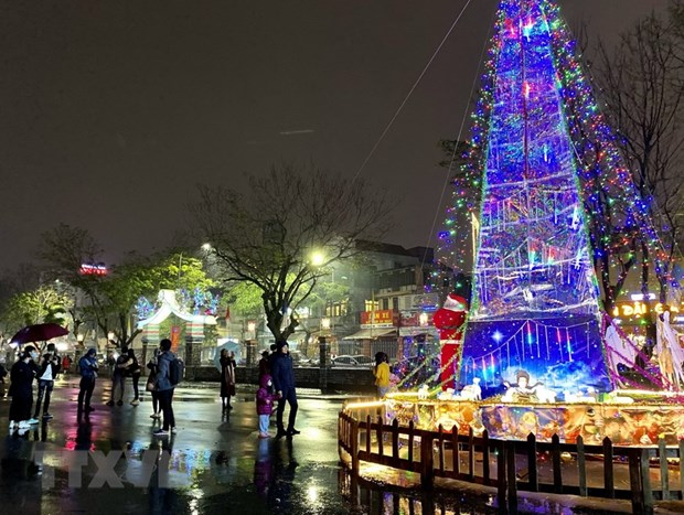 Christmas atmosphere overwhelms localities nationwide hinh anh 4
