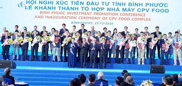 Binh Phuoc grants investment licences to 46 projects hinh anh 1