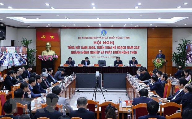 Agriculture sector urged to earn 44 billion USD from exports next year hinh anh 1