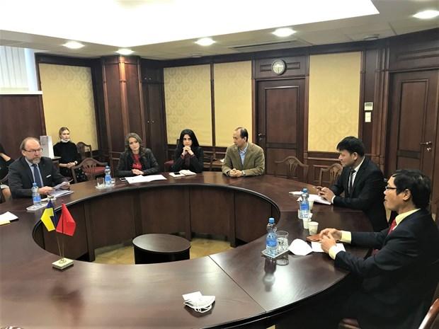 Vietnam, Ukraine need measures to boost trade: Ambassador hinh anh 1