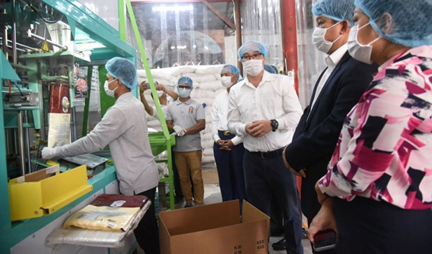 Friendship rice project helps raise income for Cambodian farmers hinh anh 1