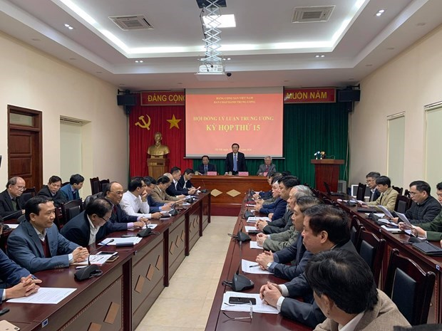 Central Theoretical Council meets in Hanoi hinh anh 1