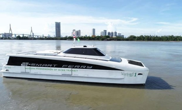 Thailand opens electric ferry route on Bangkok's Chao Phraya River hinh anh 1