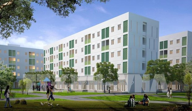 Vietnam home to 513 social housing projects for workers hinh anh 1