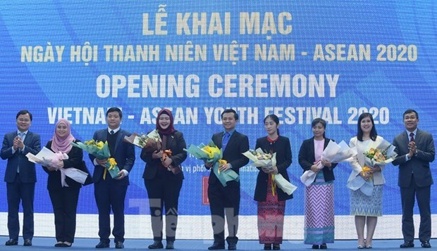 Vietnam – ASEAN Youth Festival kicks off in Hanoi hinh anh 1