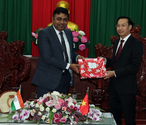 Kien Giang looks to boost cooperation with Indian localities hinh anh 1