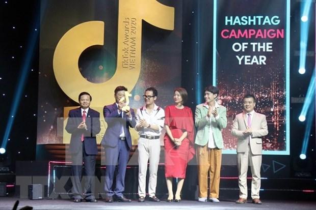 VNA's fact-checking channel honoured at TikTok Awards Vietnam hinh anh 3