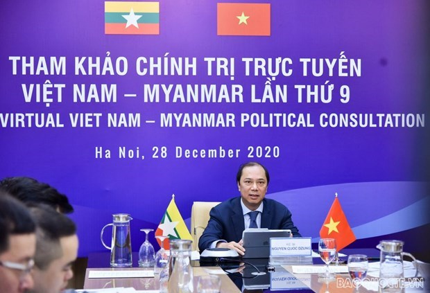 Vietnam-Myanmar 9th annual political consultation hinh anh 1