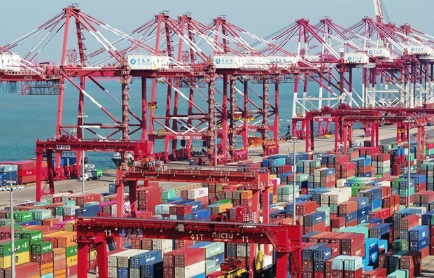 Trade surplus posts record high since 2016 hinh anh 2