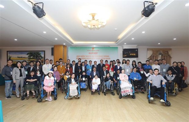 Outstanding youths with disabilities honoured hinh anh 1