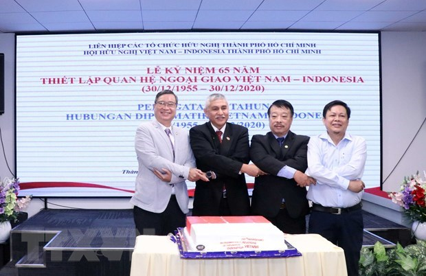 Vietnam-Indonesia diplomatic ties marked in HCM City hinh anh 1