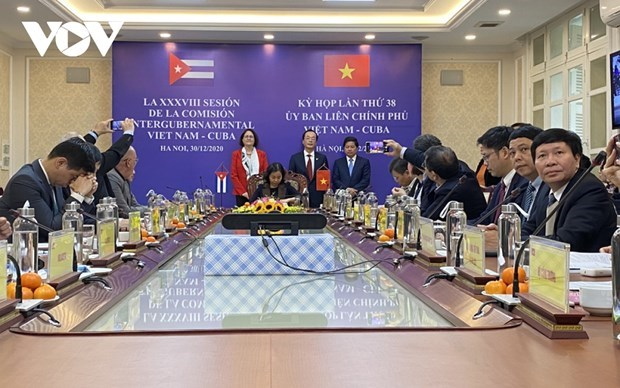 Vietnam, Cuba seek ways to raise trade to 500 million USD hinh anh 1