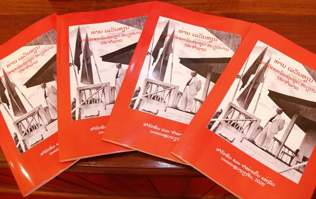 Book on first Vietnamese Ambassador to Laos released hinh anh 1