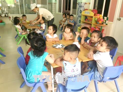 HCM City improves quality of pre-school education hinh anh 1