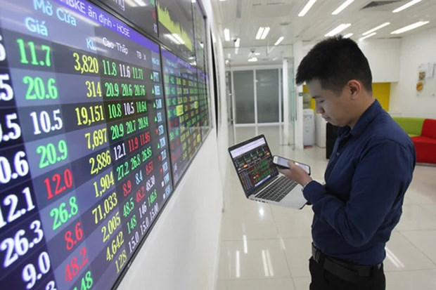 Stock market hits records in COVID-19 year on rising optimism hinh anh 1