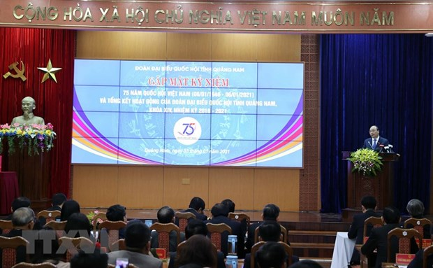 PM attends ceremony marking 75 years of first general elections hinh anh 1