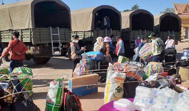 Cambodia intensifies checks along borders with Vietnam, Thailand hinh anh 1