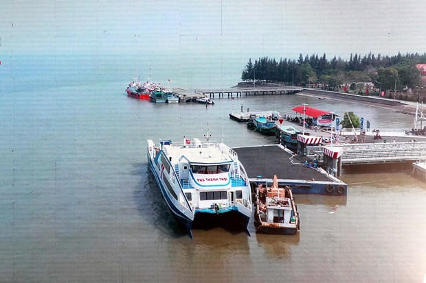 Can Gio - Vung Tau ferry service officially debuts hinh anh 1