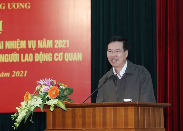 Commission to ensure 13th National Party Congress's press centre runs smoothly hinh anh 1