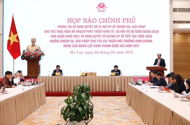 Government mulls roadmap to reopen economy post-COVID-19 hinh anh 1