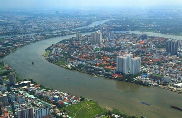 HCM City plans public spaces along Saigon River hinh anh 1