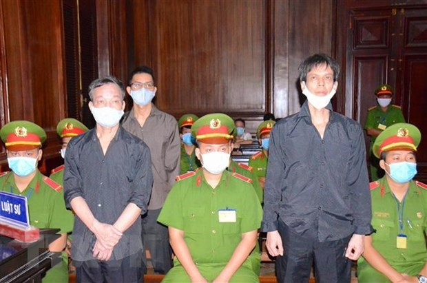 Imprisonment sentences given to three men for anti-State propaganda hinh anh 1