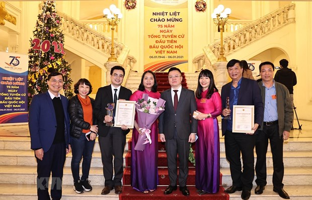 Winners of Press Awards marking 75th anniversary of NA announced hinh anh 1