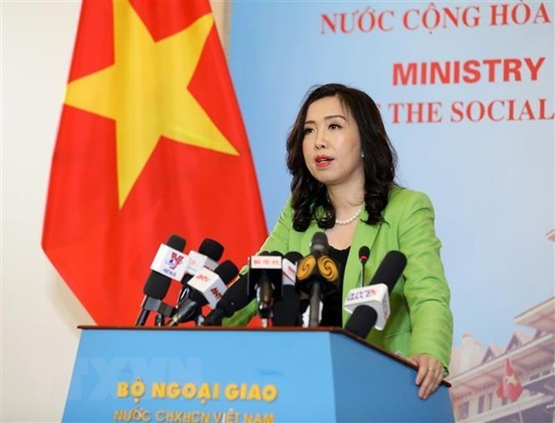 Vietnam ensures safety, rights of Vietnamese sailors aboard detained Korean tanker hinh anh 1