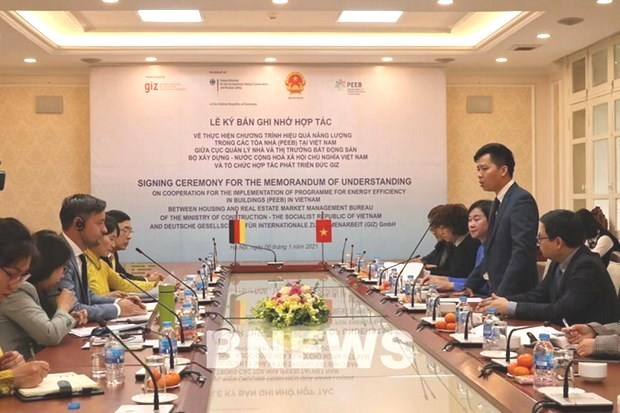 New Vietnam-Germany partnership to save 6.3 bln kWh of electricity in 10 years hinh anh 1
