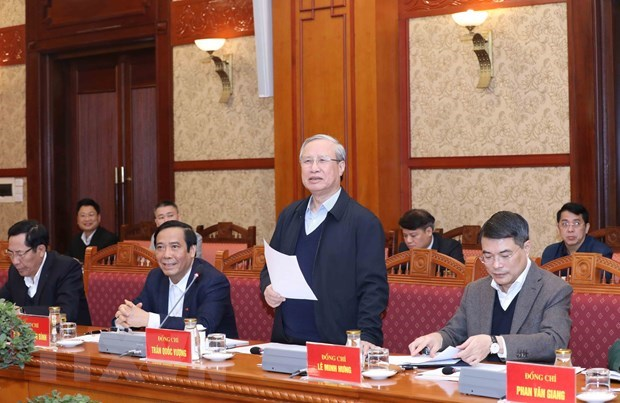 Top priority given to preparations for 13th National Party Congress: Official hinh anh 1
