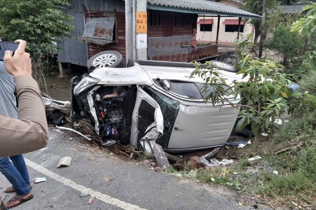 Thailand posts almost 400 traffic deaths in New Year holiday hinh anh 1