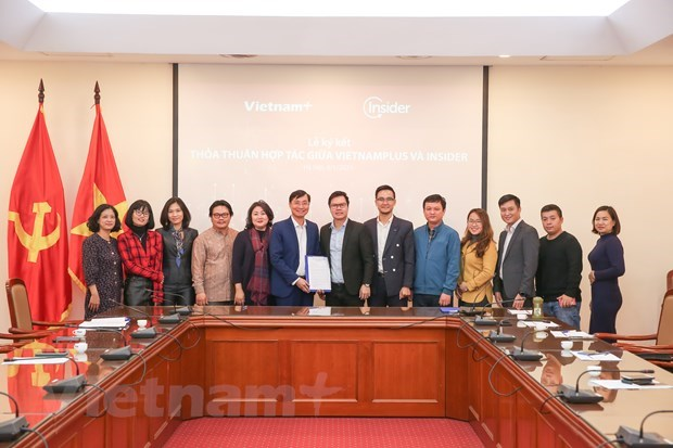 VietnamPlus, Insider cooperate in digital transformation in journalism hinh anh 3