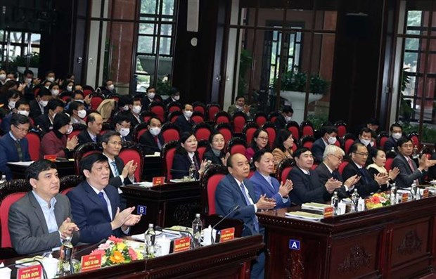 PM urges health sector to develop specific action plans hinh anh 1