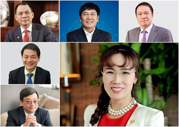 Vietnamese billionaires' net worth increases after battling headwinds of 2020 hinh anh 1