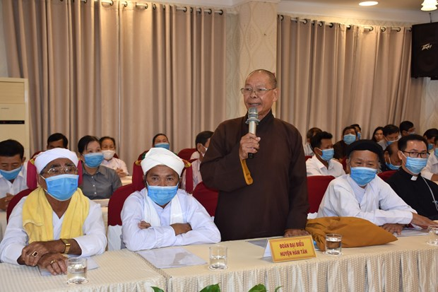 Binh Thuan lauds contributions by local religious followers, ethnic people hinh anh 1