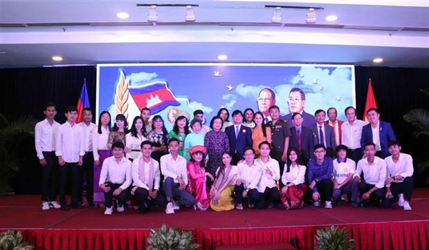 Get-together celebrates joint Vietnam-Cambodia victory over Pol Pot hinh anh 1