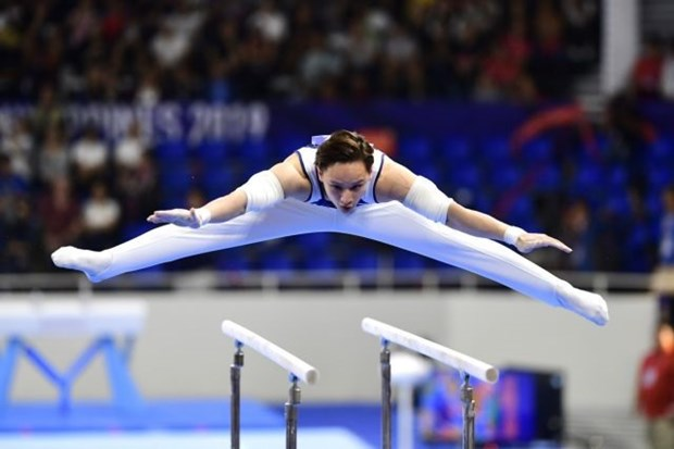 Gymnasts target Olympic slots, SEA Games titles hinh anh 1