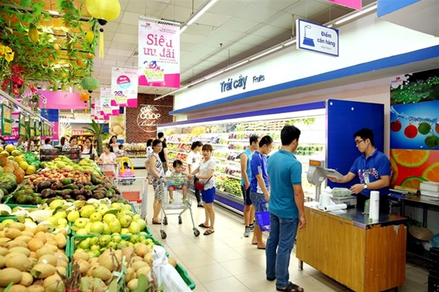 HCM City's retail market grows by 11.9 percent despite pandemic hinh anh 1